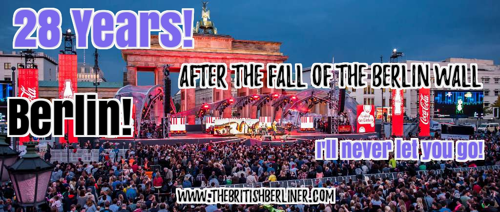 28 years; 28 years after the Fall of the Berlin Wall; Berlin Wall; Mauerfall; Berlin; Germany; Federal Republic of Germany; Festival of Lights; Freedom; FRG; GDR; DDR; German; German Democratic Republic; Reunification; German Reunification; Nur Mit Euch; Only With You; October 3rd; 1989; Tag der Deutschen Einheit; der Deutschen Einheit; Deutschen Einheit; Deutsche; Deutsche; East Germany; West Germany, the Germans; Germans; die Deutschen; Mauer; After the Fall of the Berlin Wall; Europe; Travel: