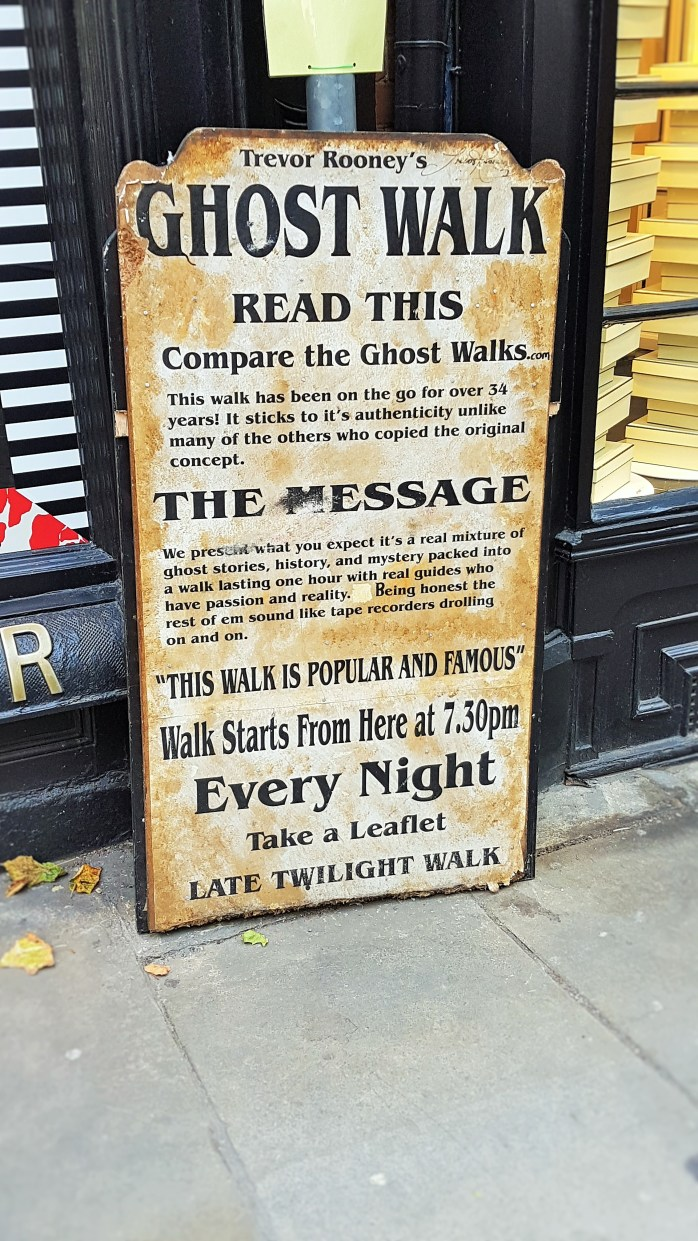 Other ghost walks in York....!