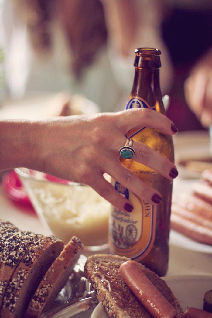 Food in Germany; German bread; bread; sausages; German sausages; beer; German beer; German food; food; German; Germany; Berlin food; best food in Berlin; best German meal; German meal; German snack; meal; snack; Europe; travel; Essen