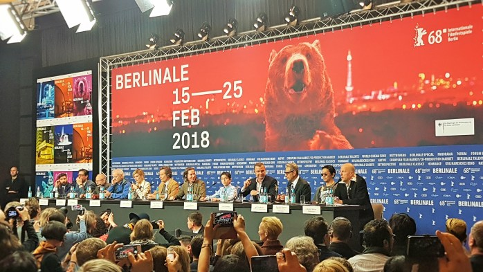 Isle of Dogs; film industry; press-only conference; press; media; film conference; media conference; Berlinale; 68th Berlinale; Berlin International Film Festival; Internationale Filmfestspiele Berlin; International Film Festival; Film Festival; film; films; movies; festival; Berlin Films; Berlin; Germany