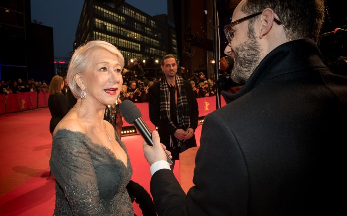 Helen Mirren at the Berlinale. Because anyone who matters is here! - © Internationale Filmfestspiele Berlin