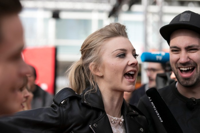Natalie Dormer was here to promote Picnic at Hanging Rock, & all I could think of was Game of Thrones! © Thomas Lobenwein - Berlinale Series