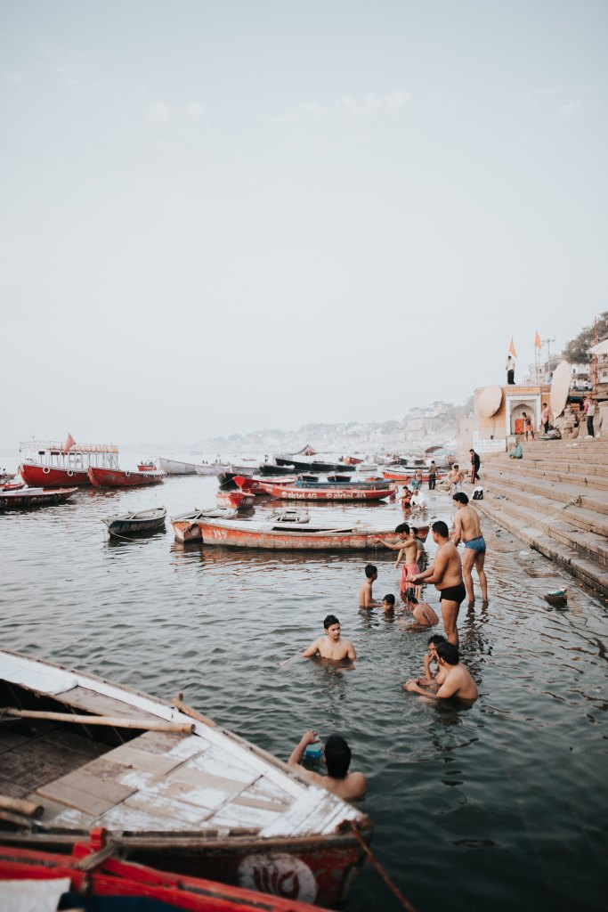 I'm sorry, but India's Holy River Ganges in Varanasi is utterly filthy!
