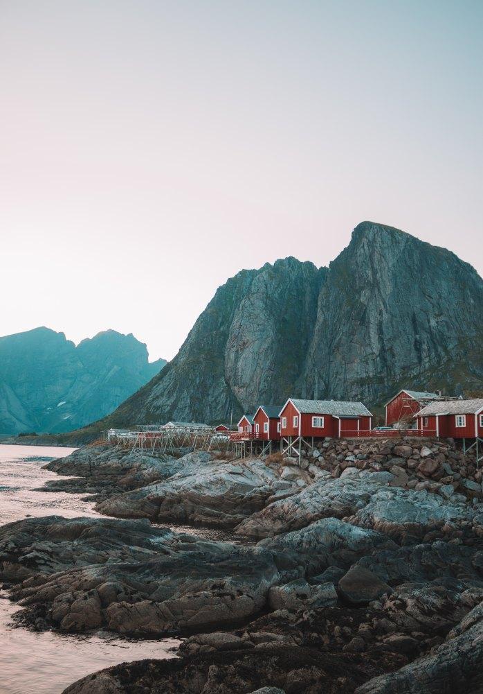 Hamnøy; Norway; Europe; summer; travel