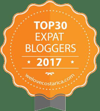 Top 30 Expat Bloggers Badge; top expat bloggers; expat bloggers; expat blog; expat; bloggers; blog