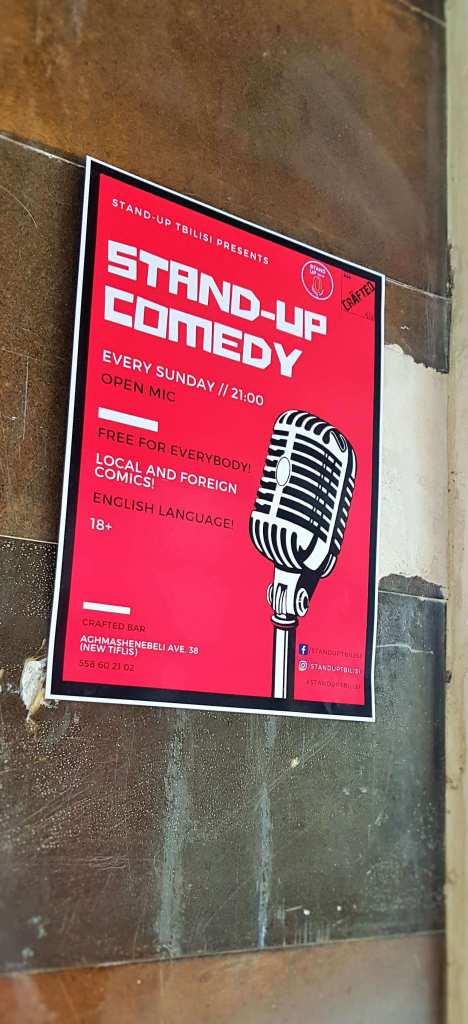 Stand Up Comedy; Stand Up; Comedy; English Comedy; Comedy in English; Tbilisi; Tbilisi City Hall; City of Tbilisi; Georgia; Georgian; Caucasus; Europe; European; travel;