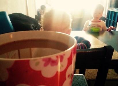 Caffeine...the bigger the better