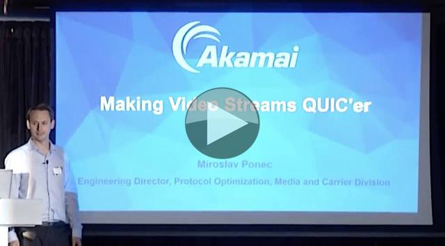 Video: Making Video Streams QUICer – The Broadcast Knowledge
