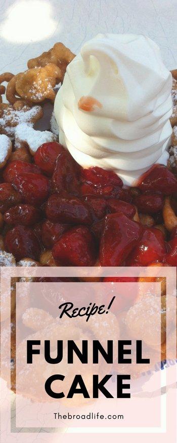 Funnel Cake Recipe Pinterest Board