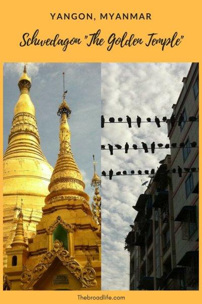 Yangon, Myanmar & Schwedagon 'The Golden Temple' - The Broad Life