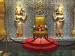 The very beautiful decoration inside Naga World, the largest casino in Phnom Penh
