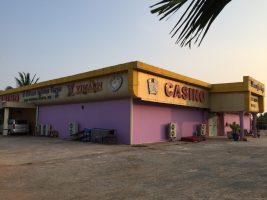If you see casinos, you are on Cambodia territory.