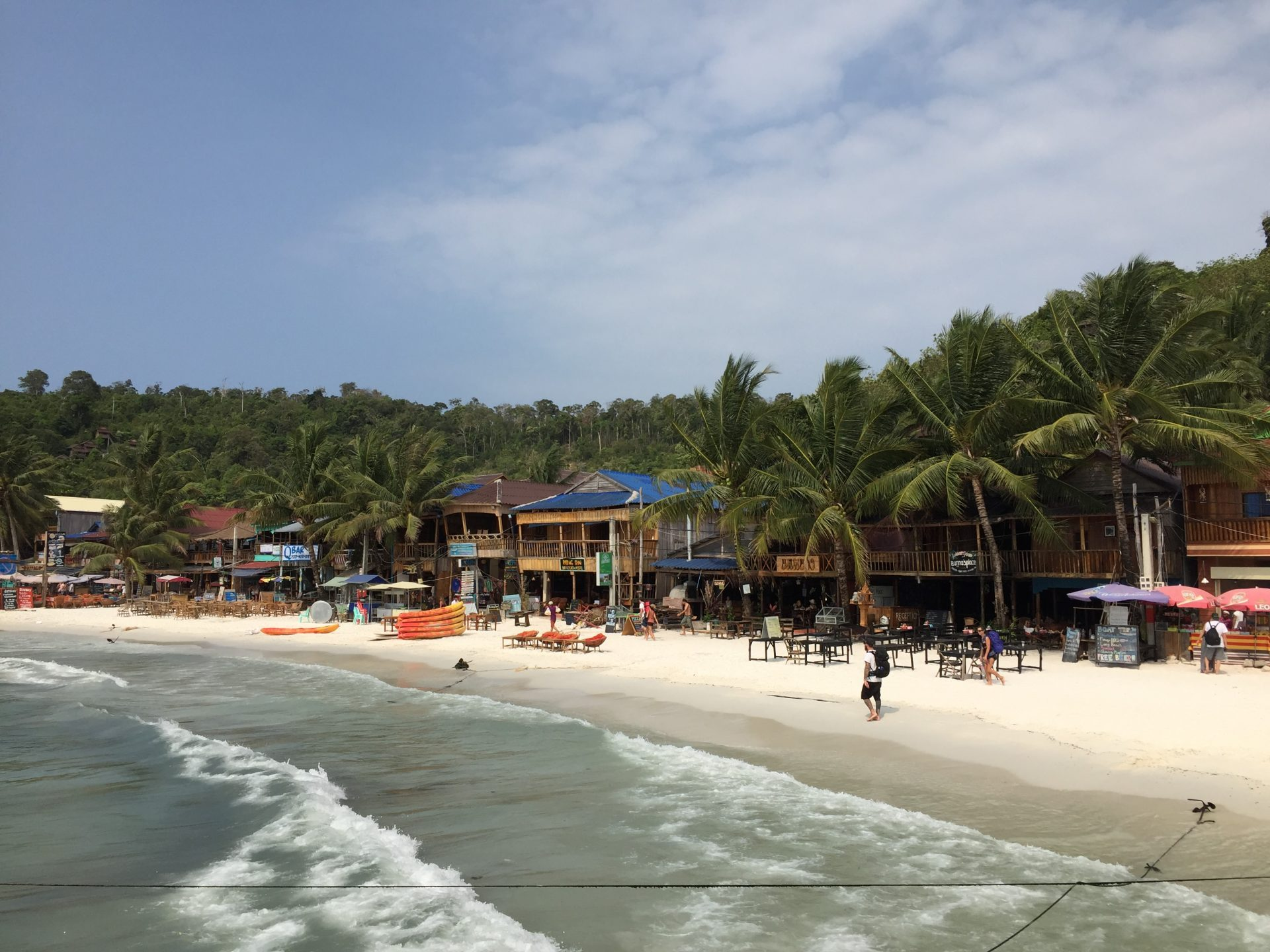 bars at koh rong main island
