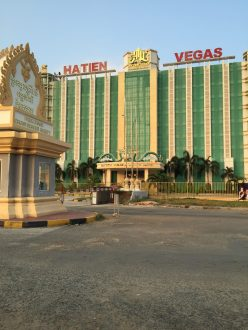Casinos are built a lot near the border.