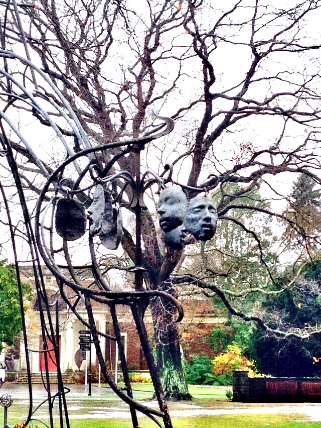 Sculpture in Hagley Park, New Zealand