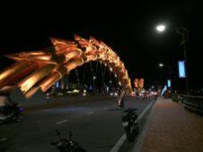 The Dragon bridge at Da Nang