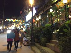 we called it the western town at Sapa. A lot of foreign visitors stay at the road