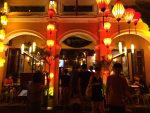 Rau Muống Xanh, a restaurant with delicious foods at the town