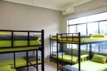 bedroom with AC inside at O.M.E hostel - Quy Nhon, Vietnam