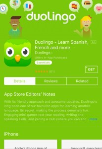 Duolingo is good for travelling to different countries with its translation