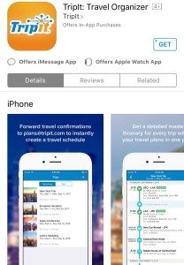 TripIt is the Travel Organizer app