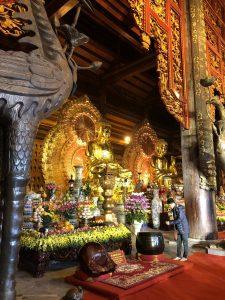 Buddha Statue at Bai Dinh Pagoda, Trang An Complex