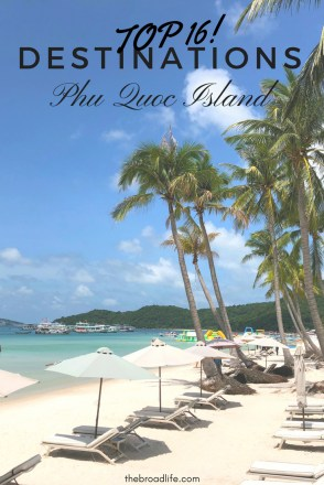 Top 16 Destinations in Phu Quoc Island, Pinterest Board