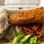 Banh Cuon Song Moc take away - The Broad Life reviews Saigon Food
