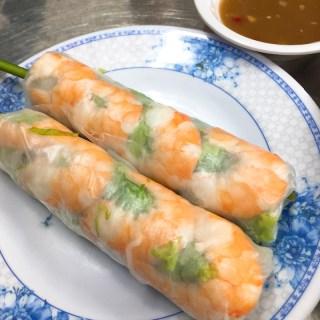 Gỏi Cuốn (Vietnamese Spring Rolls), saigon food, vietnamese cuisine