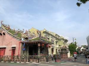 Around George Town UNESCO heritage sites