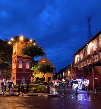 historical site at Melacca, Malaysia