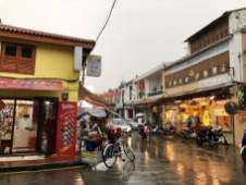 Malacca Town, the first city after I when from Singapore to Malaysia