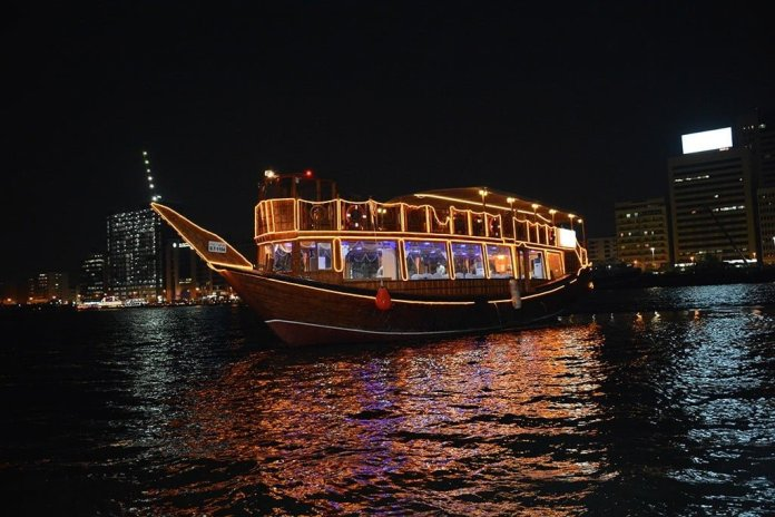 Dubai Attractions - Dhow Dinner Cruise