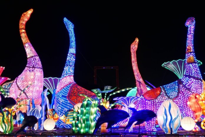 Dubai Attractions - Dubai Garden Glow