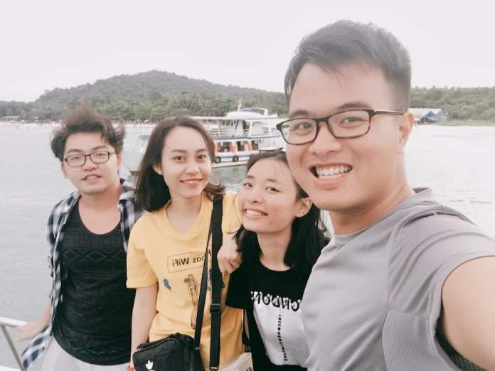 the team traveled to phu quoc island, vietnam