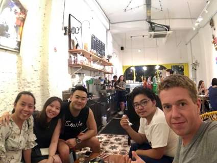 Singaporean friends took us to a dessert restaurant