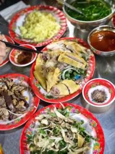 ba buoi chicken rice in hoi an, vietnam