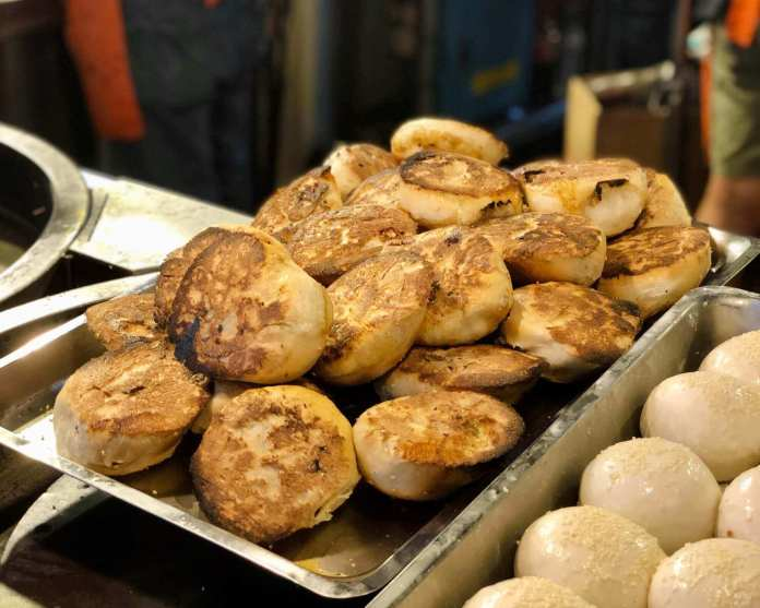 one of the best buns in my Taipei and Taichung trip, found at Raohe St. night market