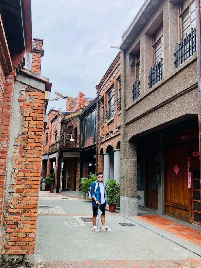 Bopiliao Historic Block Site in Taipei, near Lungshan temple