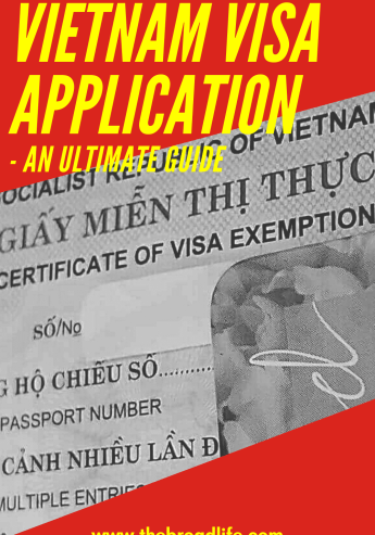 The Broad Life's Pinterest Board of Vietnam Visa Application Post