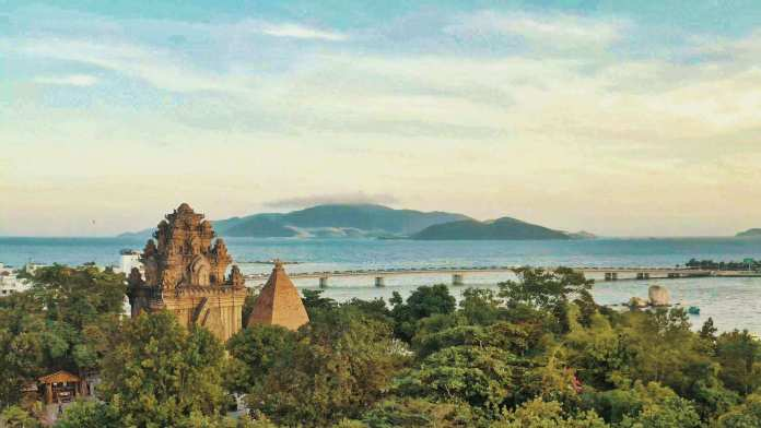 Po Nagar Cham Towers, one of the most ancient temples in Vietnam