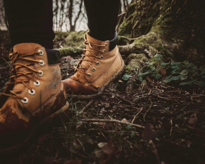 Hiking boots are always the best choice for traveling