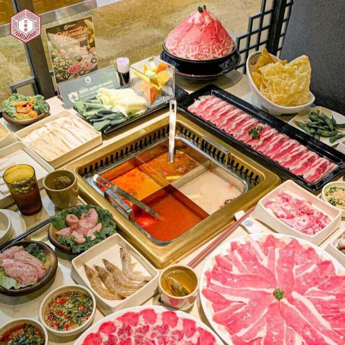 Manwah - Taiwanese Hotpot, one of the chains of hotpot in saigon