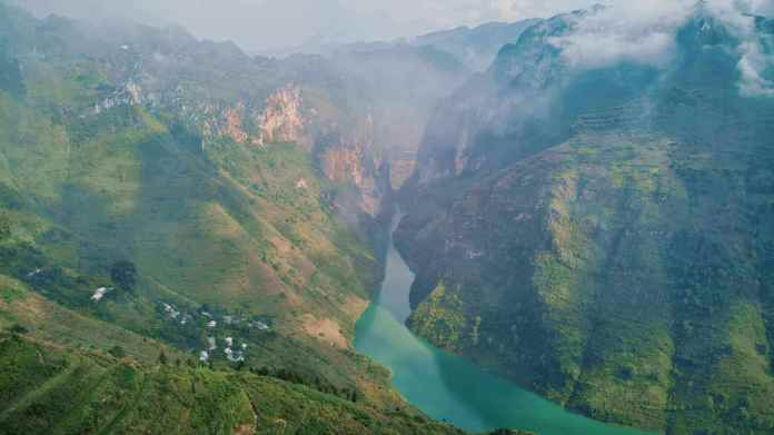 Nho Que river on Ha Giang, Vietnam on travel restrictions in 2021
