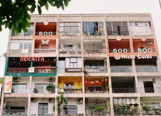 Cafe Apartment, District 1, Ho Chi Minh City, Vietnam
