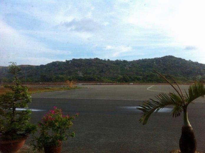 The airport of Con Dao island