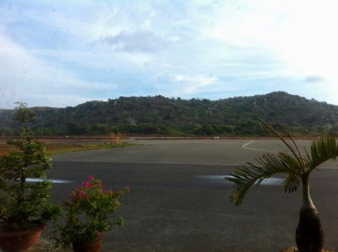 The airport of Con Dao island