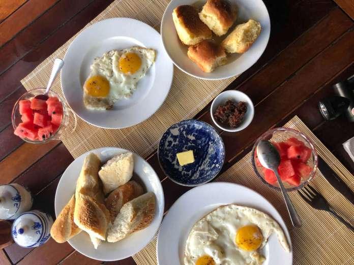 Breakfast including in Whale Island Resort