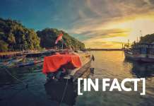 indonesia locates in two continents