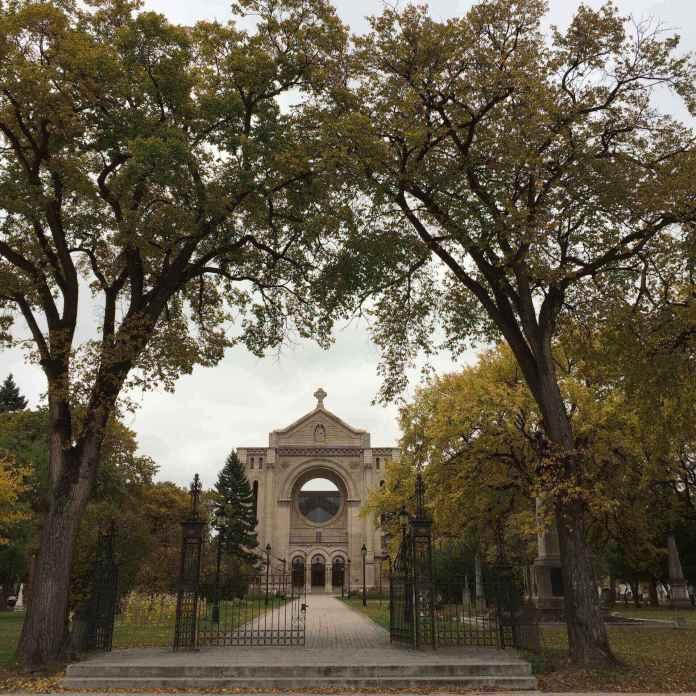The old church we saw in Winnipeg